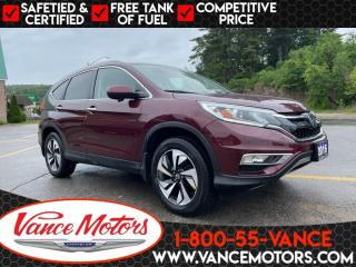 Used 2016 Honda CR-V Touring AWD...LEATHER*BLUETOOTH*SUNROOF! for sale in Bancroft, ON