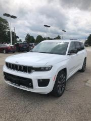 New 2021 Jeep Grand Cherokee L Overland for sale in Petrolia, ON