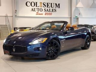 Used 2011 Maserati GranTurismo CONVERTIBLE-4.7L V8-NAVIGATION-CERTIFIED! for sale in Toronto, ON