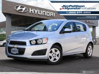 Used 2015 Chevrolet Sonic LS Manual for sale in North Vancouver, BC