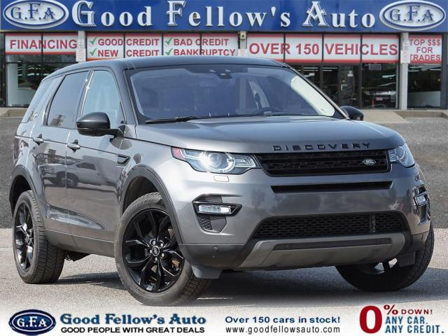 2018 Land Rover Discovery Sport LUXURY SPORT HSE, 4WD, REARVIEW CAMERA, PAN ROOF