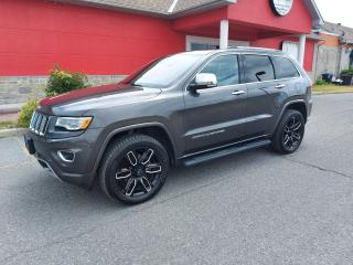 Used 2016 Jeep Grand Cherokee Overland for sale in Cornwall, ON