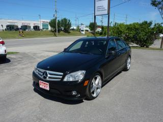 Used 2010 Mercedes-Benz C-Class C 350 for sale in Kitchener, ON