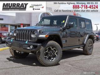 New 2021 Jeep Wrangler 4xe Unlimited Rubicon 4x4 for sale in Winnipeg, MB