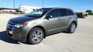 Used 2013 Ford Edge Limited for sale in Elie, MB