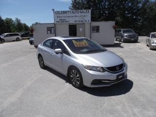 Used 2015 Honda Civic LX for sale in Elmvale, ON