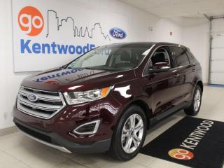 Used 2018 Ford Edge Titanium | AWD | Sunroof | NAV | Remote Starter | Low KM! for sale in Edmonton, AB