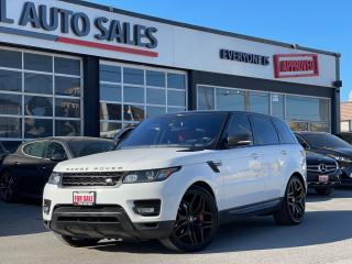 Used 2016 Land Rover Range Rover Sport V8 SUPERCHARGED | DYNAMIC | EXTND WRNTY 160KM for sale in North York, ON