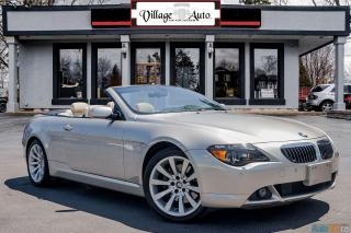 Used 2007 BMW 6 Series 650i for sale in Ancaster, ON