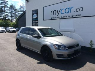 Used 2015 Volkswagen Golf 1.8 TSI Trendline ALLOYS, HEATED SEATS, VERY CLEAN GOLF HATCH!! for sale in Richmond, ON