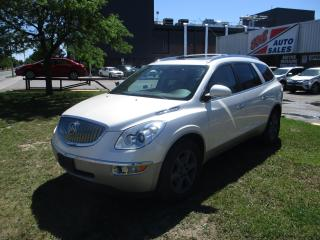 Used 2009 Buick Enclave CXL ~ 7 PASS. ~ DVD ~ LEATHER/COOLING/HEATED SEATS for sale in Toronto, ON