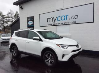 Used 2018 Toyota RAV4 LE HEATED SEATS, ALLOYS, BACKUP CAM, BLUETOOTH!! for sale in North Bay, ON