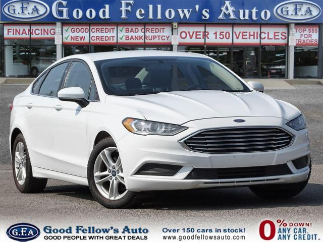 2018 Ford Fusion SE MODEL, REARVIEW CAMERA, HEATED & POWER SEATS