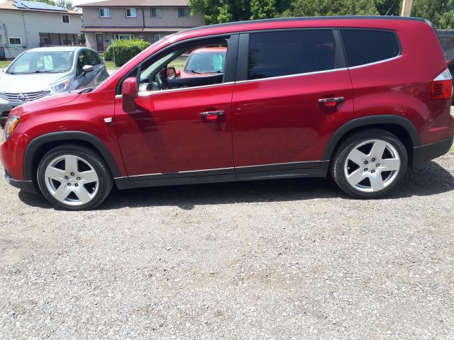 2012 Chevrolet Orlando LTZ