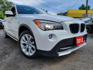Used 2012 BMW X1 28i/AWD/NAVI/LEATHERROOF/LOADED/ALLOYS for sale in Scarborough, ON