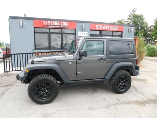 Used 2018 Jeep Wrangler Willys Wheeler | A/C | Off Road Tires for sale in St. Thomas, ON