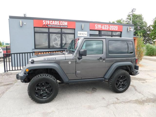 2018 Jeep Wrangler Willys Wheeler | A/C | Off Road Tires