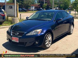 Used 2011 Lexus IS 250 AWD LOW KM NO ACCIDENT SUNROOF BLUETOOTH CERTIFIED for sale in Oakville, ON