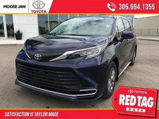 New 2021 Toyota Sienna XLE 8-Passenger for sale in Moose Jaw, SK