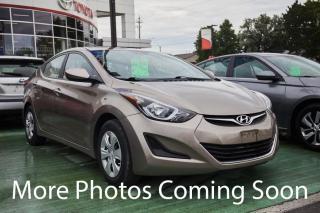 Used 2015 Hyundai Elantra for sale in Hamilton, ON