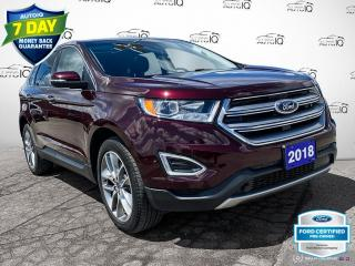 Used 2018 Ford Edge Titanium AWD Leather/Navi/Roof/20 Wheels for sale in St Thomas, ON