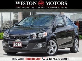 Used 2015 Chevrolet Sonic *1.8L FWD*SUNROOF*BLUETOOTH!!* for sale in Toronto, ON