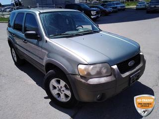 Used 2005 Ford Escape XLT | KEYLESS ENTRY | CLOTH | POWER WINDOWS AND LOCKS | ALLOYS | FOG LIGHTS | for sale in Barrie, ON