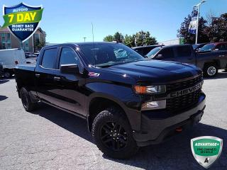 Used 2021 Chevrolet Silverado 1500 Custom Trail Boss | CLEAN CARFAX | REVERSE CAMERA | KEYLESS ENTRY | for sale in Barrie, ON