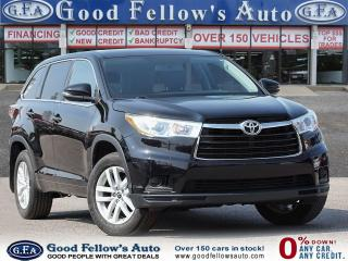 Used 2016 Toyota Highlander LE MODEL, AWD, REARVIEW CAMERA, BLUETOOTH, 8 PASS for sale in Toronto, ON