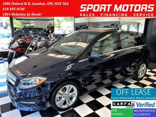 Used 2017 Mercedes-Benz B-Class B250 4MATIC AWD+Camera+ApplePlay+Roof+CLEAN CARFAX for sale in London, ON