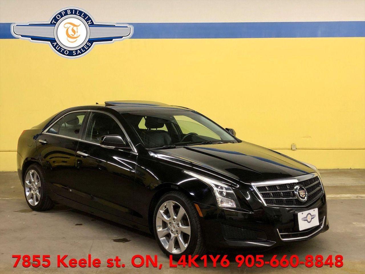2013 Cadillac ATS Luxury, Leather, Sunroof, Back-up Cam