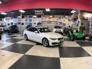 Used 2017 BMW 3 Series SPORT & NAVI PKG AUTO LEATHER SUNROOF  80K for sale in North York, ON
