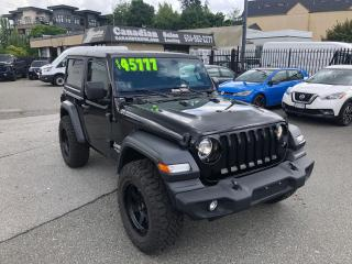 Used 2019 Jeep Wrangler Sport S 3.6L 285HP 8 SPD AUTO for sale in Langley, BC