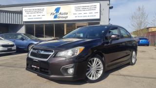 Used 2013 Subaru Impreza 2.0i w/Limited Pkg Navi/Backup Cam for sale in Etobicoke, ON