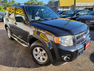 Used 2010 Ford Escape Limited/4WD/LEATHER/ROOF/LOADED/ALLOYS for sale in Scarborough, ON