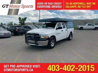 Used 2012 RAM 1500 ST 4X4 I $0 DOWN-EVERYONE APPROVED! for sale in Calgary, AB