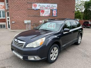 Used 2011 Subaru Outback 2.5i Premium/AWD/6 SPEED/NO ACCIDENTS/SAFETY INCL for sale in Cambridge, ON