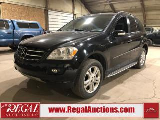 Used 2008 Mercedes-Benz M-Class ML320 4D Utility CDI AWD for sale in Calgary, AB