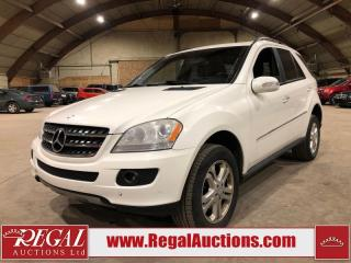 Used 2008 Mercedes-Benz ML 320 4D UTILITY CDI 4WD for sale in Calgary, AB