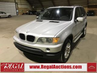 Used 2001 BMW X5  4D UTILITY 3.0L AWD for sale in Calgary, AB