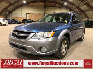 Used 2008 Subaru Outback 4D Wagon AWD for sale in Calgary, AB