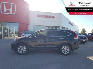 Used 2014 Honda CR-V Touring for sale in Winnipeg, MB