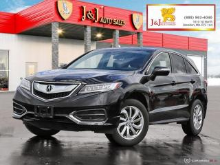 Used 2018 Acura RDX Tech Sunroof, Navigation, Keyless Entry, Leather Seats for sale in Brandon, MB