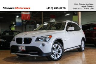 Used 2012 BMW X1 28i xDrive - PANOROOF|NAVIGATION|HEATED SEATS for sale in North York, ON