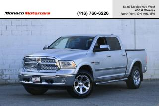 Used 2014 RAM 1500 LARAMIE ECODIESEL 4WD - LEATHER|NAVI|BACKUP for sale in North York, ON