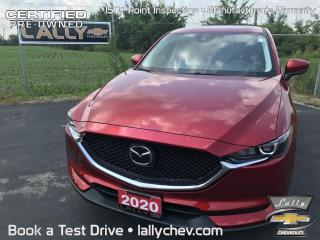 Used 2020 Mazda CX-5 GS*AWD*LOCAL TRADE*ONE OWNER*LOW KMS*LEATHER*BACK for sale in Tilbury, ON