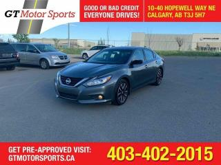 Used 2018 Nissan Altima SV I $0 DOWN-EVERYONE APPROVED for sale in Calgary, AB