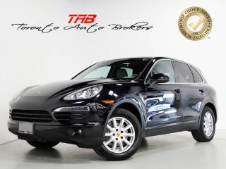 Used 2012 Porsche Cayenne I PANO I VENTED SEATS I NAV I CLEAN CARFAX for sale in Vaughan, ON