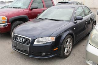 Used 2008 Audi A4 2.0T Quattro for sale in Whitby, ON
