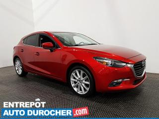 Used 2018 Mazda MAZDA3 Sport GT - Bluetooth - Caméra de Recul - Climatiseur for sale in Laval, QC